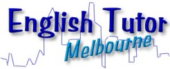 English Tutor Melbourne. Private English conversation, pronunciation and IELTS tutor. logo